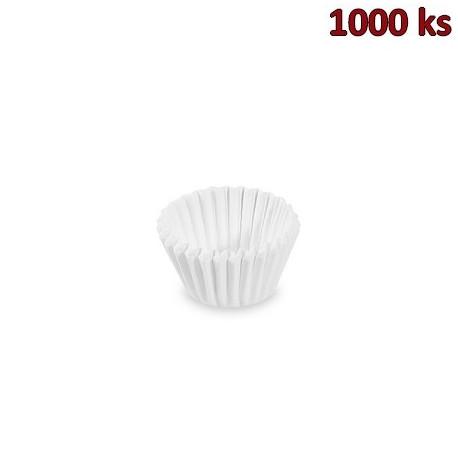 Cukrářské košíčky bílé Ø 20 x 19 mm [1000 ks]