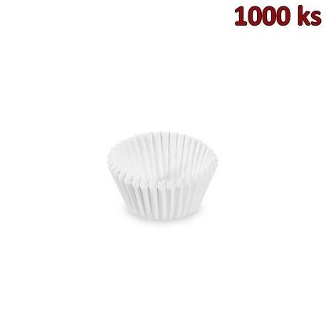 Cukrářské košíčky bílé Ø 24 x 18 mm [1000 ks]