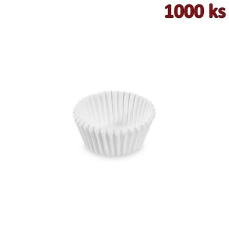 Cukrářské košíčky bílé Ø 28 x 16 mm [1000 ks]