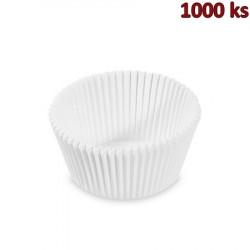 Cukrářské košíčky bílé Ø 50 x 32 mm [1000 ks]
