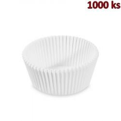 Cukrářské košíčky bílé Ø 55 x 30 mm [1000 ks]