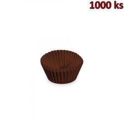 Cukrářské košíčky hnědé Ø 24 x 18 mm [1000 ks]
