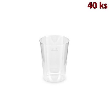 Kelímek krystal 0,1 l [40 ks]