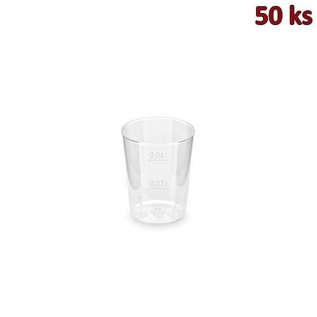 Kelímek krystal 2 cl / 4 cl [50 ks]