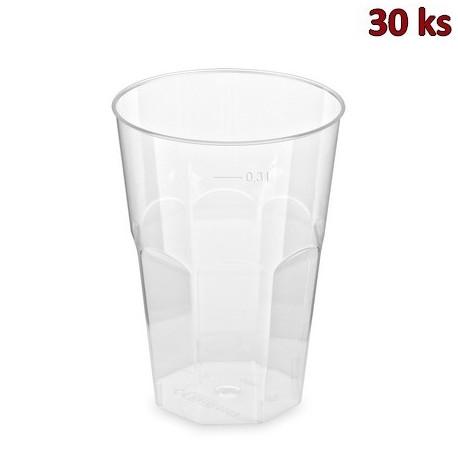 Kelímek krystal na koktejl 0,3 l [30 ks]