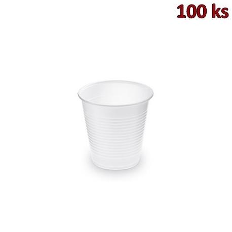 Plastový kelímek bílý 0,15 l PP (Ø 70 mm) [100 ks]