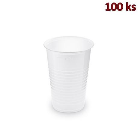 Plastový kelímek bílý 0,3 l PP (Ø 80 mm) [100 ks]