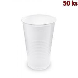 Kelímek bílý 0,5 l PP (Ø 95 mm) [50 ks]