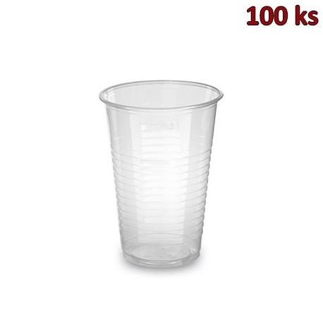 Kelímek průhledný 0,3 l PP (Ø 80 mm) [100 ks]