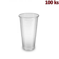 Plastový kelímek průhledný 0,25 l PP (Ø 70 mm) [100 ks]