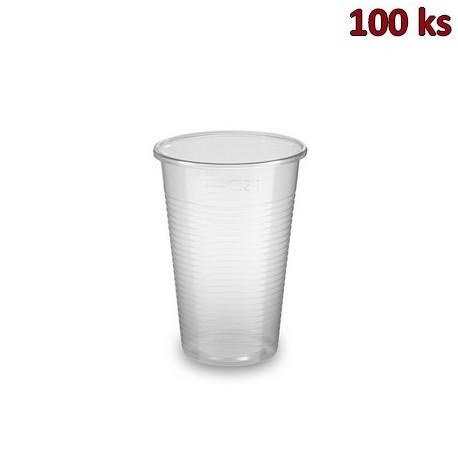Kelímek transparentní 0,2 l PP (Ø 70 mm) [100 ks]