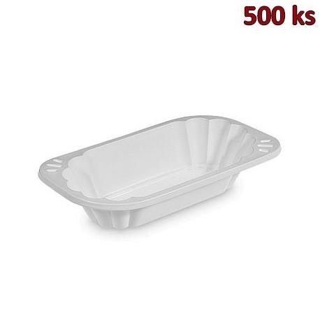 Miska oválná bílá PP 300 ml [250 ks]
