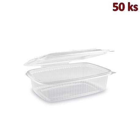 Krabička na potraviny s víčkem 750 ml PP [50 ks]