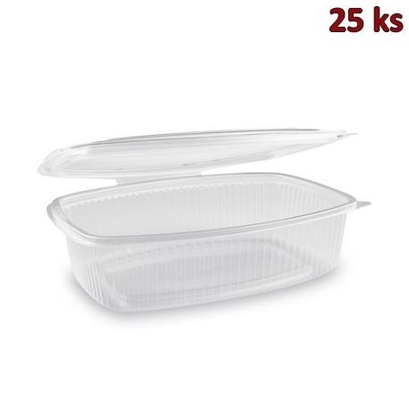 Krabička na potraviny s víčkem 1500 ml PP [25 ks]
