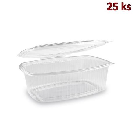 Krabička na potraviny s víčkem 2000 ml PP [25 ks]