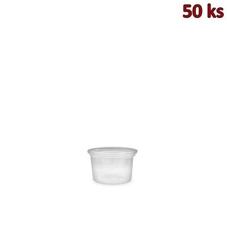 Dresinková miska průhledná 30 ml PP [50 ks]