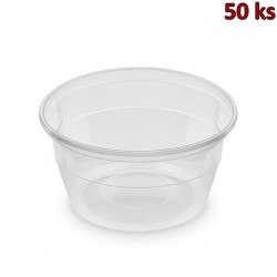 Polévková miska průhledná PP 500 ml, Ø 127 mm [50 ks]