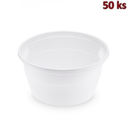 Polévková miska bílá PP 500 ml, Ø 127 mm [50 ks]