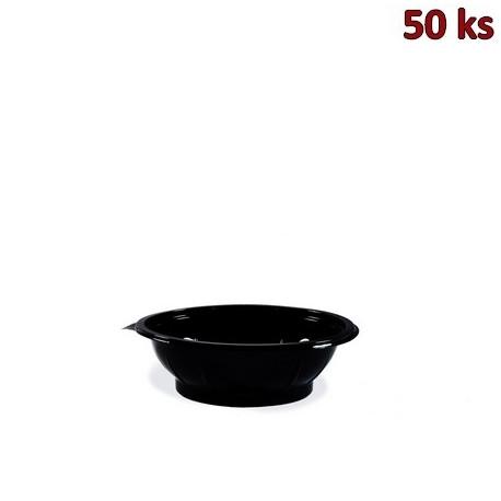 Salátová miska černá 500 ml PET [50 ks]