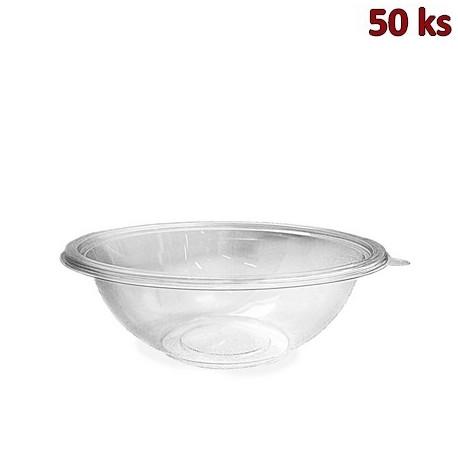 Salátová miska PREMIUM průhledná 750 ml PET [50 ks]