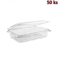 Plastová vanička s víčkem průhledná 800 ml PET [50 ks]