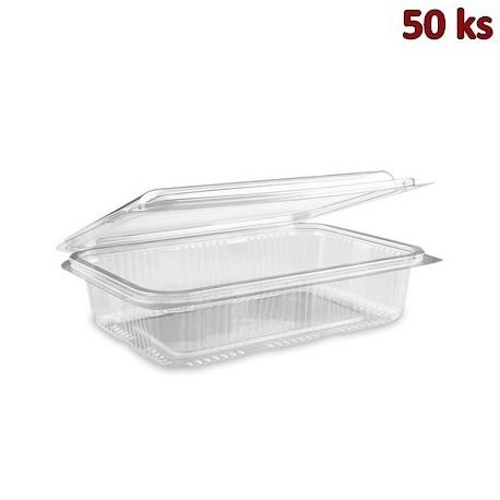 Plastová vanička s víčkem průhledná 1000 ml PET [50 ks]