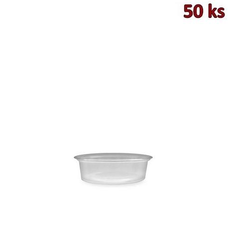 Dresinková miska průhledná 50 ml PP [50 ks]