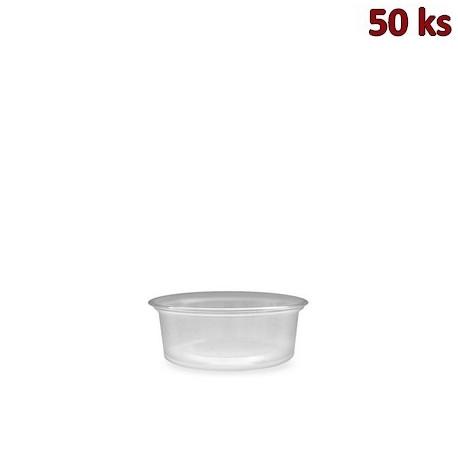 Dresinková miska průhledná 80 ml PP [50 ks]
