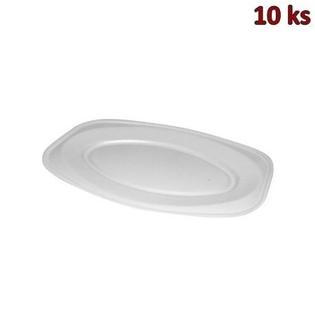Podnos oválný bílý 55 x 36 cm EPS [10 ks]