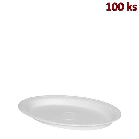 Termo-talíř oválný, bílý 29,5 x 21 cm [100 ks]