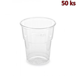 PET kelímek z PET 0,2 l (Ø 78 mm) [50 ks]