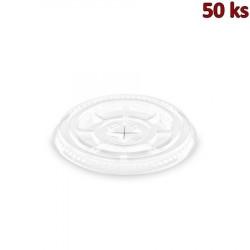 Víčko s křížovým otvorem pro kelímky Ø 78 mm [50 ks]