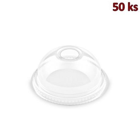 Víčko vypouklé s otvorem pro kelímky Ø 78 mm [50 ks]