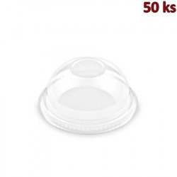 Víčko vypouklé pro kelímky Ø 78 mm [50 ks]