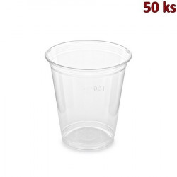 PET kelímek 0,3 l (Ø 95 mm) [50 ks]