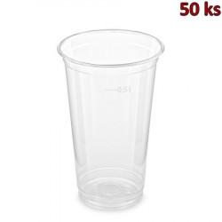 PET kelímek 0,5 l (Ø 95 mm) [50 ks]