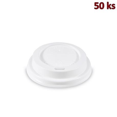 Víčko vypouklé bílé pro kelímky Ø 62 mm [50 ks]