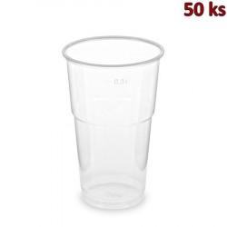Kelímek průhledný 0,3 l PP extra pevný (Ø 78 mm) [50 ks]