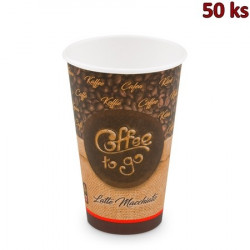 Papírový kelímek Coffee to go 510 ml, XL (Ø 90 mm) [50 ks]