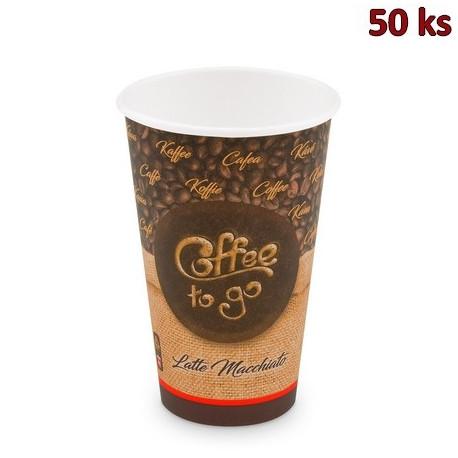 Papírový kelímek Coffee to go 510 ml, XL (Ø 90 mm) [50 ks]