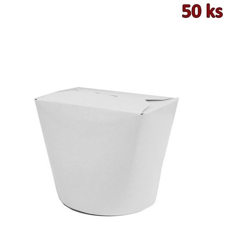 Food box bílý 500 ml (16oz) [50 ks]
