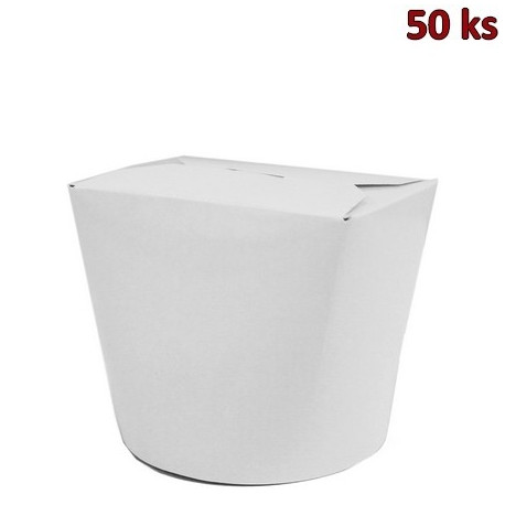 Food box bílý 750ml (26oz) [50 ks]