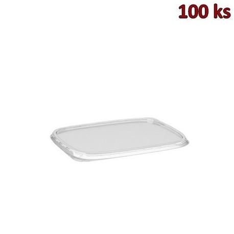 Víčko průhledné pro misky hranaté PP [100 ks]