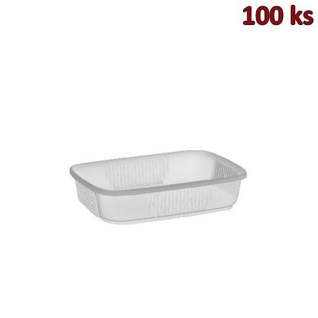 Plastová miska průhledná 125 ml PP [100 ks]