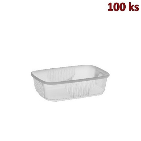 Plastová miska průhledná 150 ml PP [100 ks]