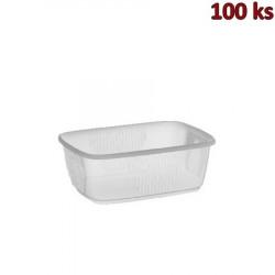 Plastová miska průhledná 200 ml PP [100 ks]