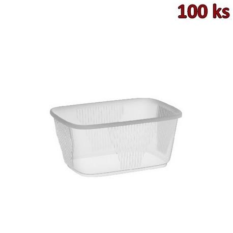 Plastová miska průhledná 250 ml PP [100 ks]