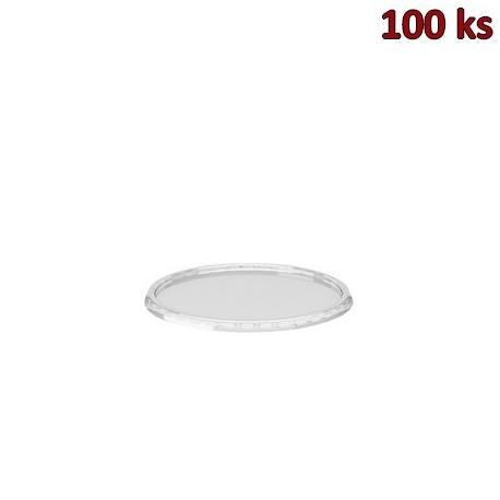 Víčko průhledné pro misky kulaté PP [100 ks]
