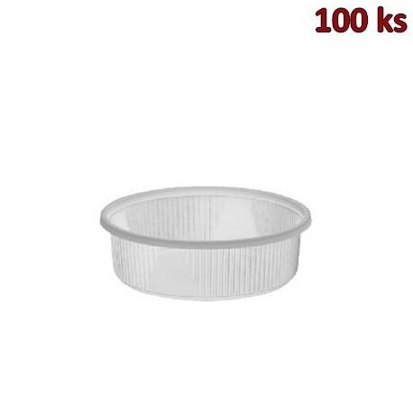 Miska kulatá průhledná 125 ml PP [100 ks]