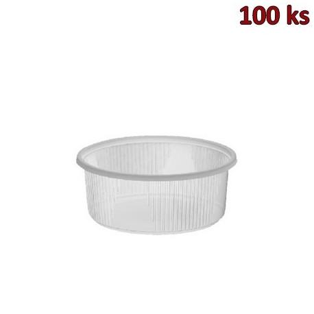 Miska kulatá průhledná 200 ml PP [100 ks]